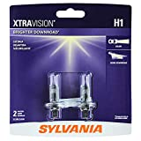 SYLVANIA - H1 XtraVision - High Performance Halogen Headlight Bulb, High Beam, Low Beam and Fog Replacement Bulb (Contains 2 Bulbs): more info