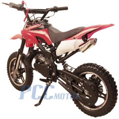 48L 49CC 2 STROKE MINI BIKE GAS MOTOR DIRT POCKET BIKE RED I DB50X