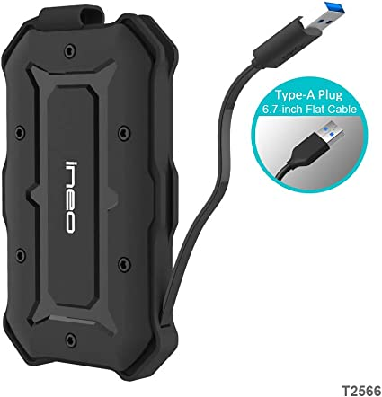 USB 3.0 SATA Waterproof Carcasa para Disco Duro Externo de 2.5 ...