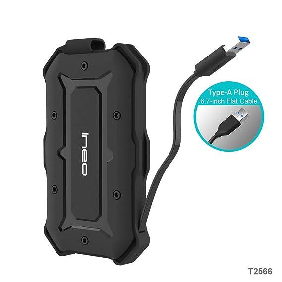 Amazon.com: ElecGear - Carcasa de protección USB a SATA para ...