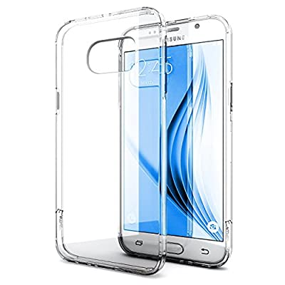 Galaxy S7 Case, TOTU [Ultimate Cushion]Slim Scratch Anti-Shock TPU Gel Rubber Flexible Transparent Back Plating Side Protective Case cover for Samsung Galaxy S7 - clear