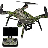 MightySkins Protective Vinyl Skin Decal for 3DR Solo Drone Quadcopter wrap cover sticker skins TrueTimberHtc Green