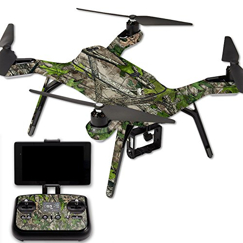 MightySkins Protective Vinyl Skin Decal for 3DR Solo Drone Quadcopter wrap Cover Sticker Skins TrueTimberHtc Green For Sale