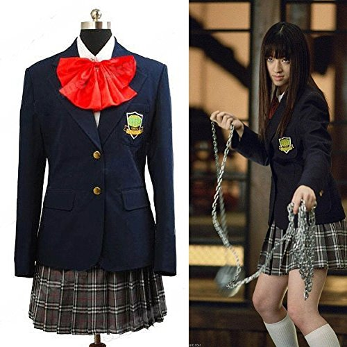 Kill Bill Cosplay Costume Gogo Yubari Dark