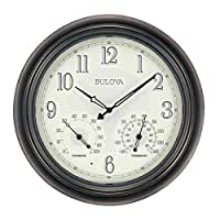 BULC4813 - Bulova Corp Weather Master Wall Clock