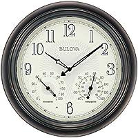 Bulova Corp Weather Master Wall Clock, 18