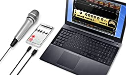 iRig Mic HD-A High-definition handheld condenser microphone IP-IRIG-MICHDA-IN