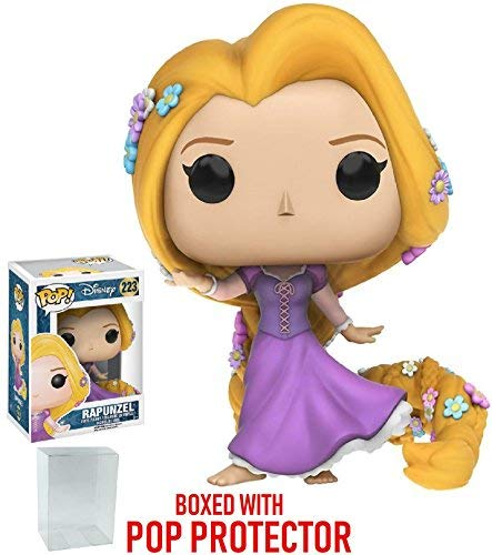 Funko Pop! Disney: Tangled - Rapunzel Vinyl Figure (Bundled with Pop Box Protector Case) -