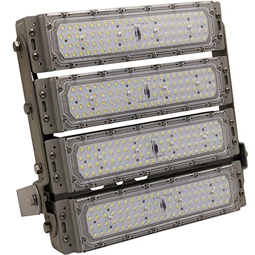 200W LED Flood Light Super Bright Outdoor Lighting 6000K 30000 Lumens Waterproof IP65 Security Light]()