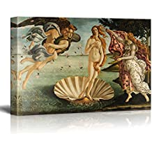 """Wall26 Birth Of Venus by Botticelli Giclee Canvas Prints Wrapped Gallery Wall Art 