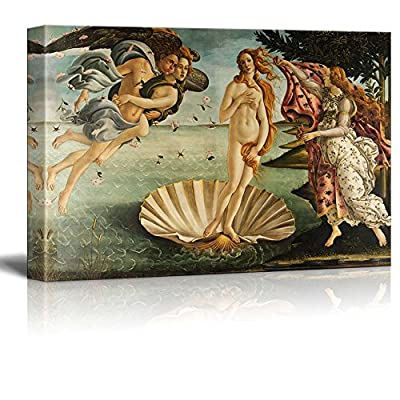 Birth Of Venus by Botticelli - Canvas Print
