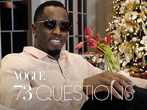73 Questions With Sean Diddy  Combs