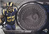 2014 Topps Nfl Commemorative Kickoff Coin James Laurinaitis St Louis Rams