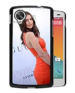 New Custom Designed Cover Case For Google Nexus 5 With Emily Ratajkowski Girl Mobile Wallpaper(120).jpg