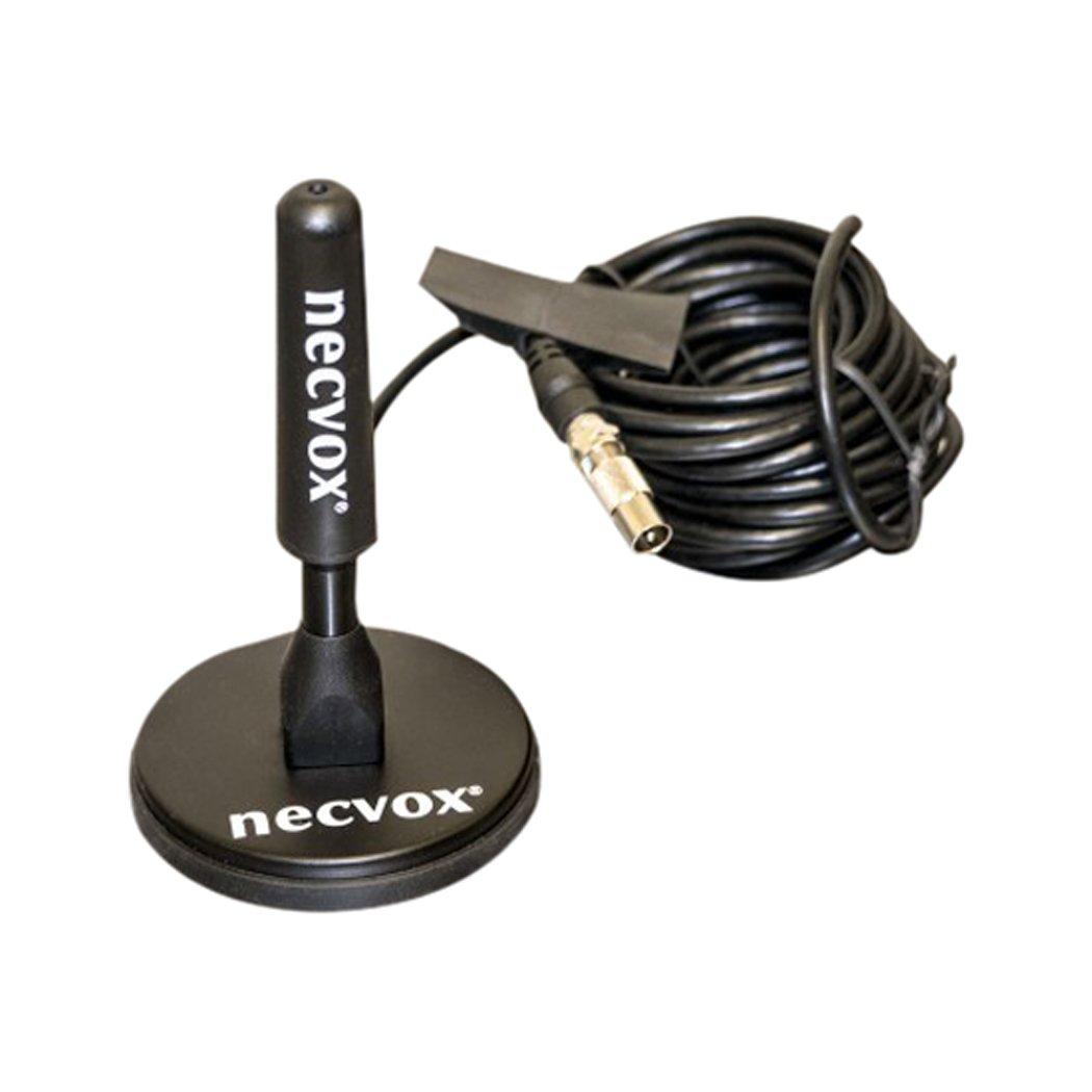 Necvox ANT-536 Antenne de toit à support magnétique pour TV numérique 96dB Noir