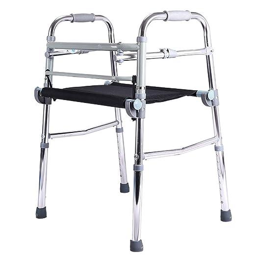 Walker ERERDIAN- Doblez Andador para Ancianos con Asiento ...