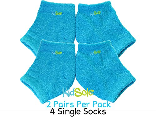 - KidSole Blue Bear Sock for Kids with Heel Sensitivity from Severs Disease, Plantar Fasciitis or any other undiagnosed heel pain issues. US Kid's Sizes 2-7