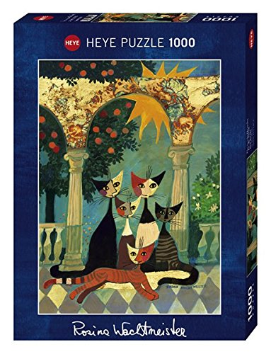 Heye New Arcade Stamped Puzzles (1000-Piece, Multi-Colour)