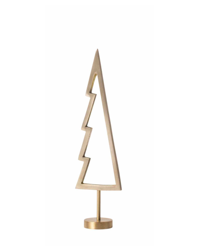 Christmas Winterland Brass Tree, Solid ferm Living