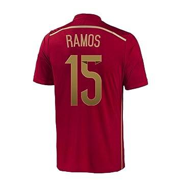 7a46d1e51 ... france adidas sergio ramos 15 spain home jersey world cup s 394ab 23e31