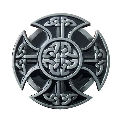 QUKE American Mens Keltic Irish Scottish Celtic Cross Celtic Knot Belt - Belt Irish