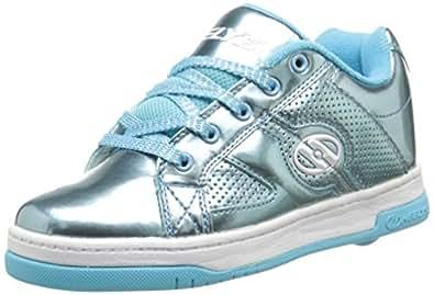 Heelys Split Chrome Skate Shoe (Toddler/Little Kid/Big Kid), Blue, 1 M US Little Kid