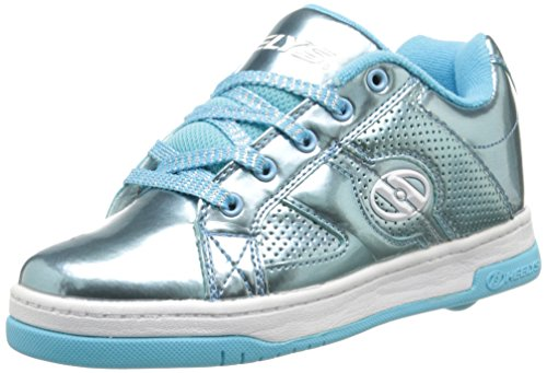 Heelys Split Chrome Skate Shoe (Toddler/Little Kid/Big Kid), Blue, 4 M US Big Kid ()