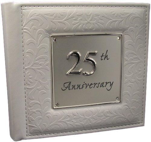 25th Silver Wedding Anniversary gift Photo Album by Shudehill