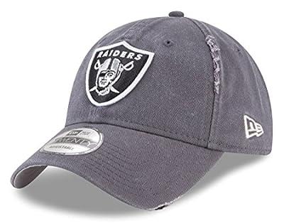 New Era Oakland Raiders Graphite Rip Right 9TWENTY Adjustable Hat/Cap from New Era
