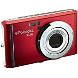 Polaroid 16.1MP Digital Still Cameras with 2.4 TFT (IS326-RED)