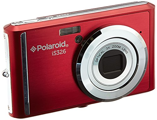 Polaroid 16.1MP Digital Still Cameras with 2.4 TFT (IS326-RED) by Polaroid