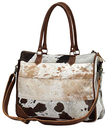 Myra Bags Genuine Leather with Cowhide Laptop Bag ()
