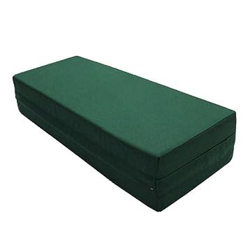 Amazon.com: Square Yoga Bolster Seat Cushion Bolster Green ...