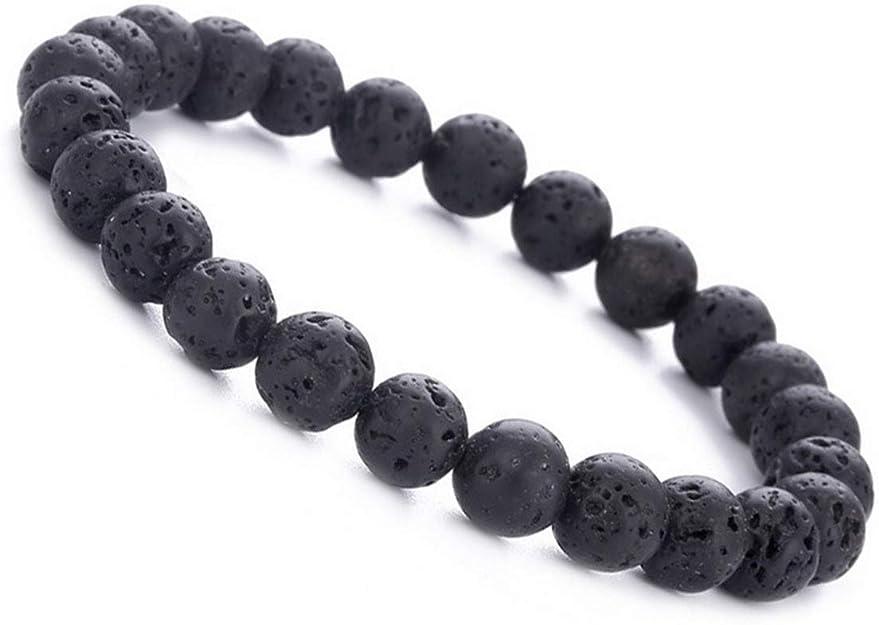 Adjustable leather and natural stone bracelet Ref: PDP338