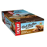CLIF Nut Butter Filled - Organic Energy Bars - Chocolate Hazelnut Butter - (50 Gram Protein Snack Bars, 12 Count)