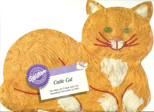 Cat Cake Pans Kritters In The Mailbox Cat Cake Pan For