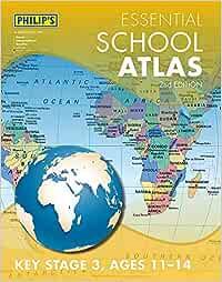 Philip's Essential School Atlas (Philip's Road Atlases)