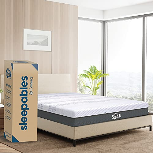 Centuary Mattresses Sleepables 6 Inch Bonnell Spring Double Size Mattress with Antimicrobial Foam  72 * 48 * 6