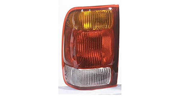 Amazon.com: Ford Ranger Left Driver Side Tail Lamp Light Amber/Red/White: Automotive