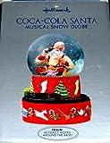 Hallmark 2001 Coca-Cola Santa Musical Snow Globe by Hallmark