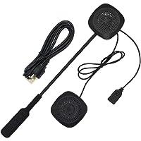 Andoer Fones de ouvido sem fio Bluetooth Capacete de intercomunicação para motocicleta de alta qualidade Fone de ouvido…