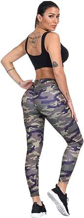 Moda Colombian Buttlifter Tummy Control Polyester & Spandex Power Flex Yoga Pants Leggings for Women