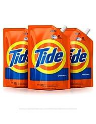 Tide Liquid Laundry Detergent Smart Pouch, Original Scent, HE...