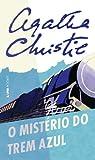 capa de O Misterio do Trem Azul. Pocket