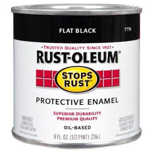 rust-oleum-7776730-protective-enamel-paint-8-ounce-flat-black