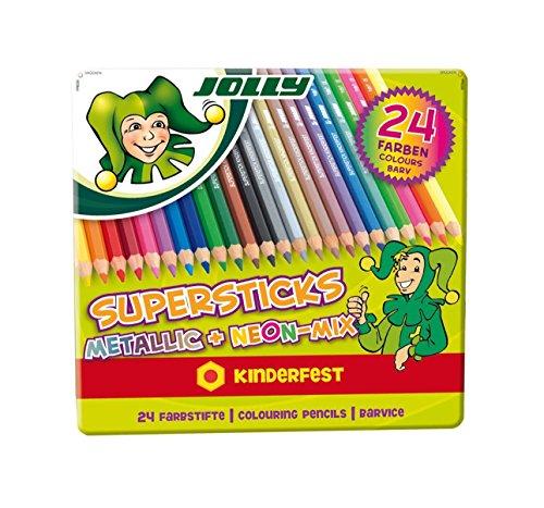 neon colored pencils - 6