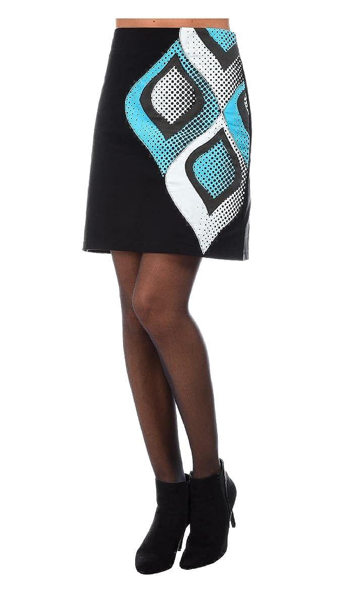 Pygmees Falda COMICS - Mujer - 1 - Negro: Amazon.es: Ropa y accesorios