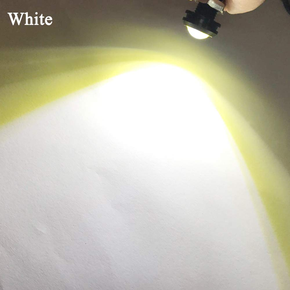 10PCS High Power 18mm 9W Eagle Eye LED Light for Car Motorcycle Daytime Running Light DRL Marker Lights White