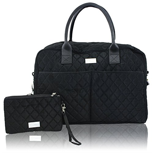 Pursetti Quilted Weekender Bag For Women