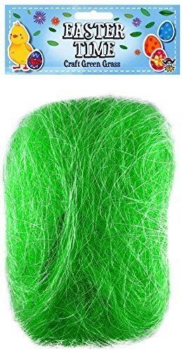 comment trouver design distinctif meilleure valeur Green Grass 20g Bag Craft Easter Bunny Egg Hunt Bonnet Hat Craft Decoration  Accessories